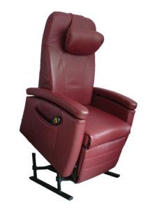 Fitform sta-op stoel leer