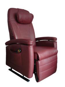 zitstand, sta-op stoel leder