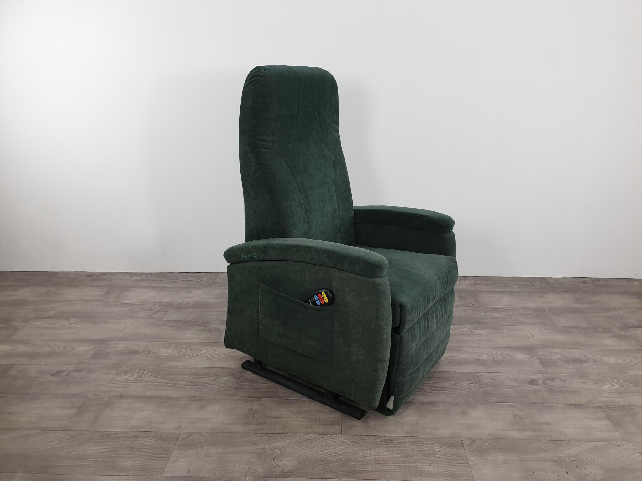 sta-op stoel groen
