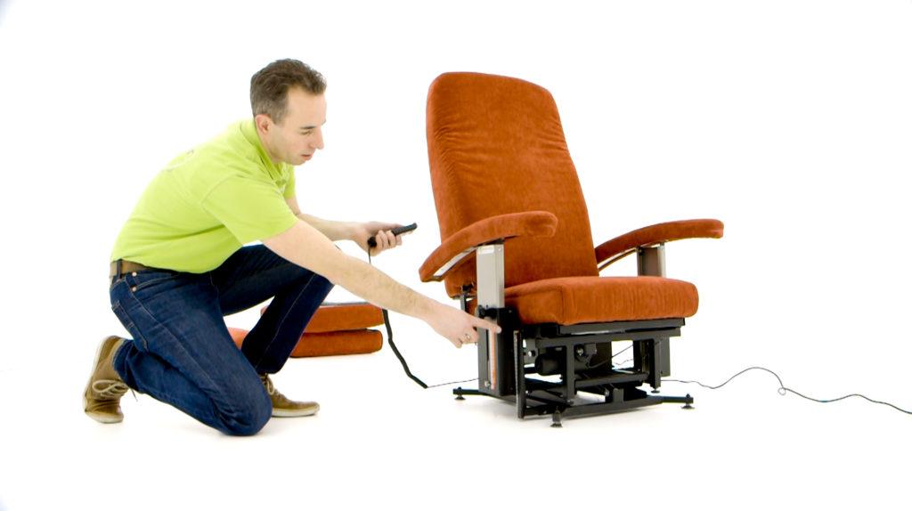 nieuwe sta op stoel fitform vario 570 maatwerk met 101 opties. Black Bedroom Furniture Sets. Home Design Ideas