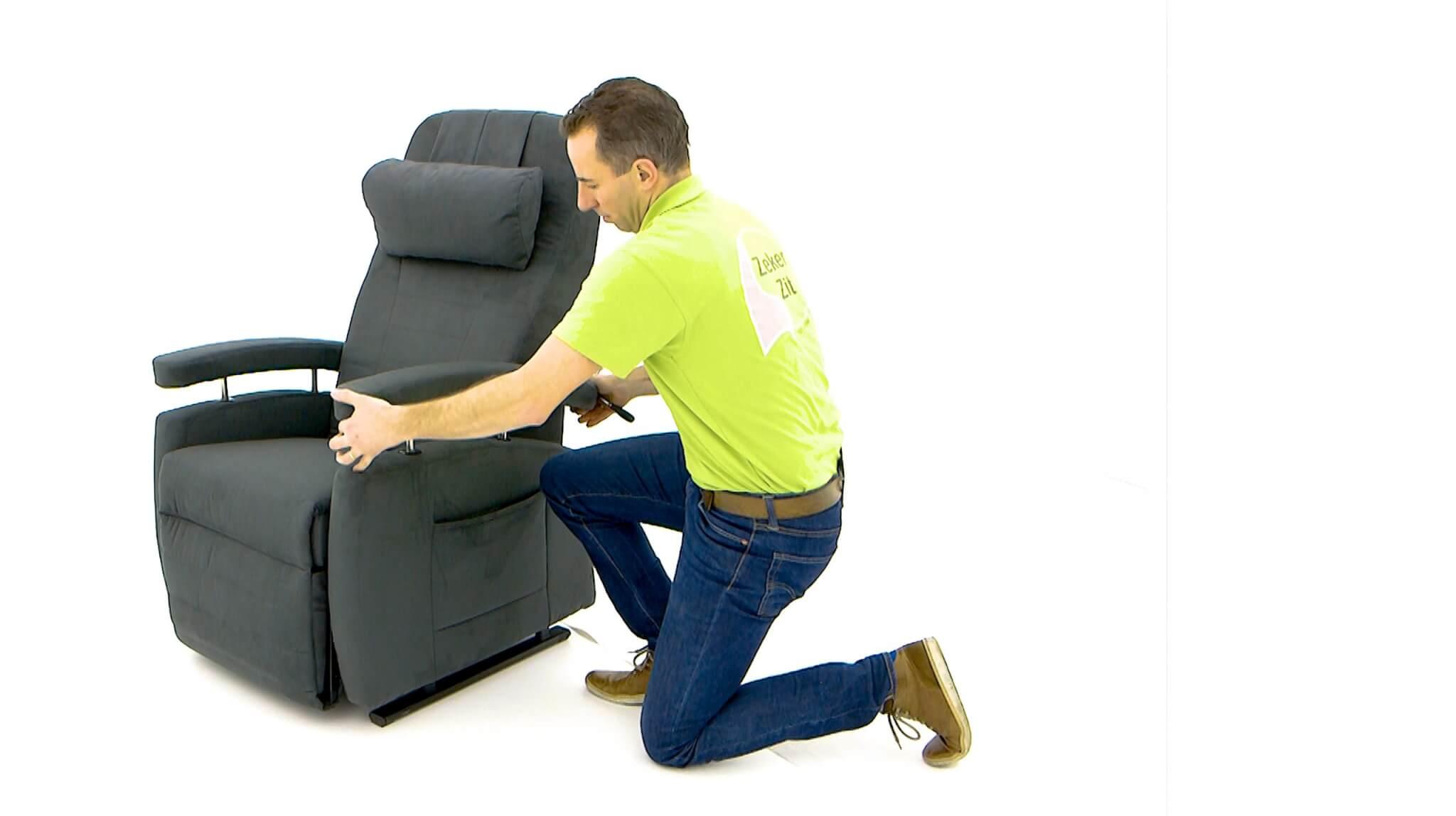 sta-op stoel instellen