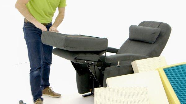zitting vervangen service sta-op stoel