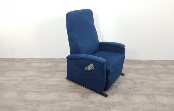 Sta-op stoel vario 570 – 63cm breed, blauw niroxx