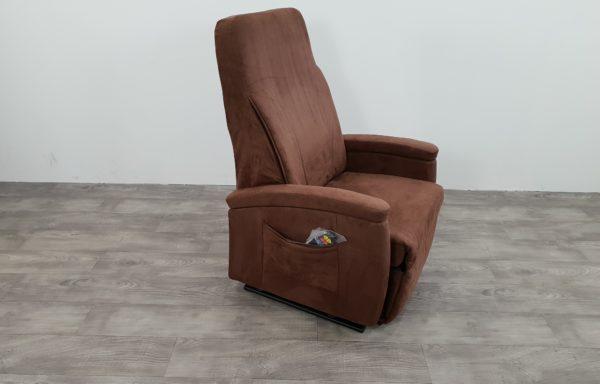 #222- Sta-op stoel 570, 57cm Niroxx suede kunstleer. € 65,- per maand