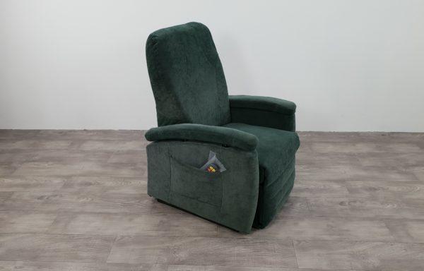 #483 – Sta-op stoel 570, 51cm groen Lage rug. € 45,- per maand.