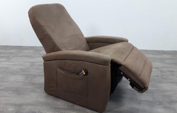 #492 – Sta-op stoel 570, 51cm lage rug bruin uit 2014