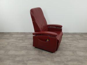 sta op stoel leder