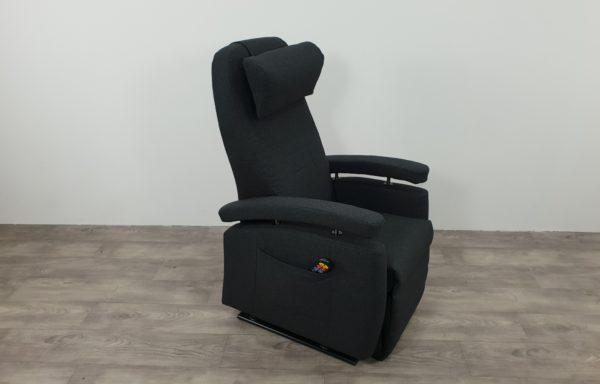 #490 – NIEUW Sta-op stoel 570 antraciet, smal.