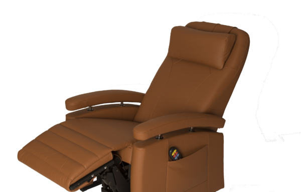 Sta-op stoel vario 570, bekleding in leer