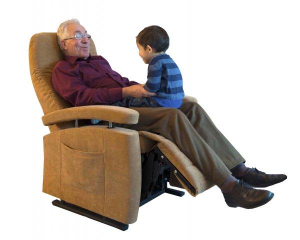 Sta-op stoel smal model