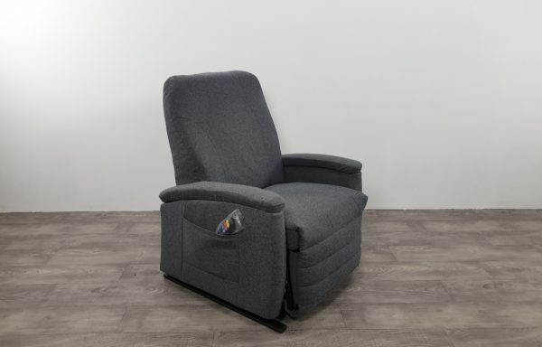 #175 Sta-op stoel vario 570 XXL – 63cm breed, grijs