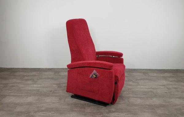 #542- Sta-op stoel Vario 570 2016, rozerood.