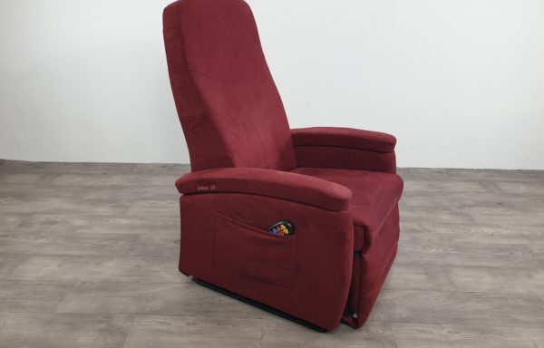 #620- Sta-op stoel Vario 570 2016, bordeaux rood.