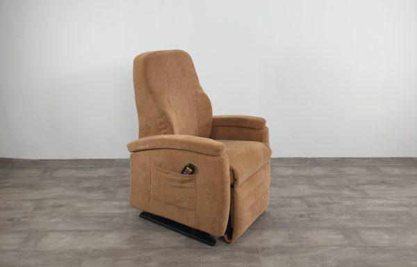 #621 – Sta-op stoel 570, 51cm zand lage kuip kyphose rug