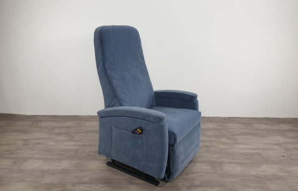 622 – Sta-op stoel vario 570 2016 – 57cm blauw, hoge rug