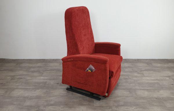 #626 Sta-op stoel vario 570 – 57cm, rood. € 65,- pm
