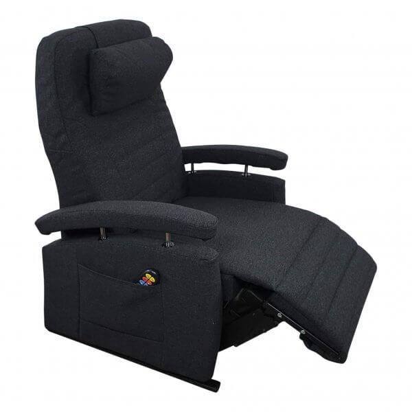 sta-op stoel antraciet 57cm breed