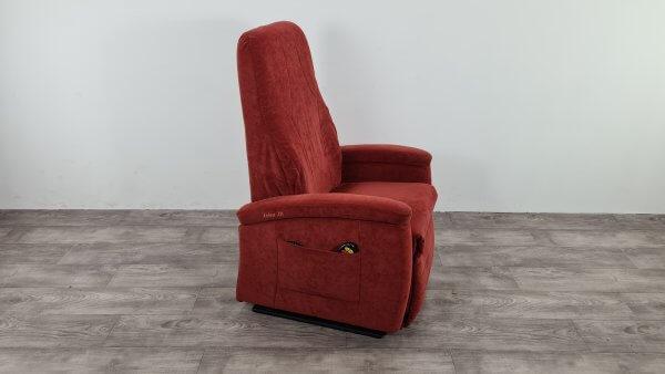 sta-op stoel fitform rood