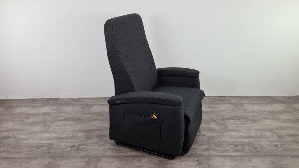 Fitform sta op stoel zwart