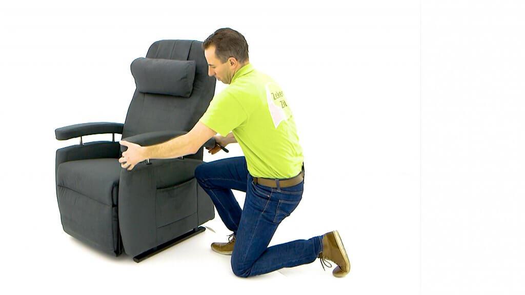 Maatwerk stoel voor rugklachten