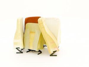 rugleuningen voor sta-op stoel