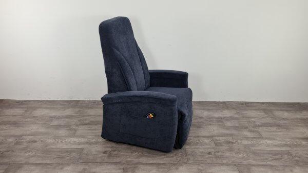 sta-op stoel blauw