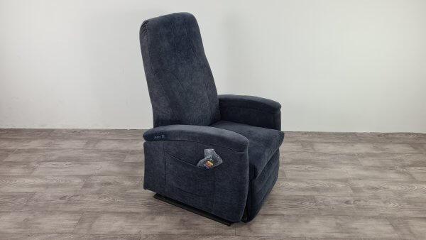 sta op stoel huren blauw