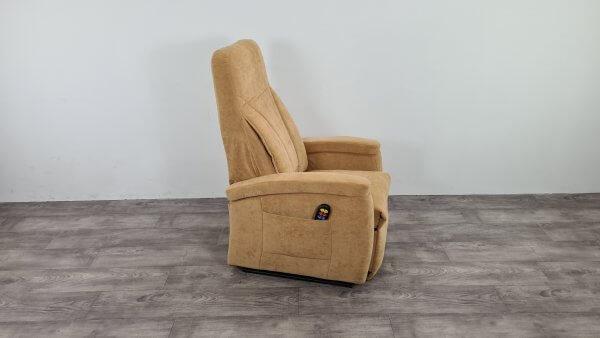 Sta-op stoel smal model, geel