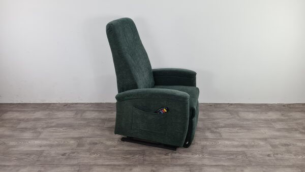 sta op stoel groen