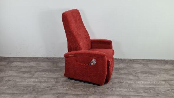 sta op stoel rood